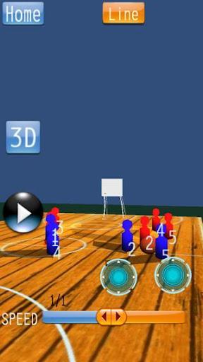 バスケットボール 戦略ボード Mini
