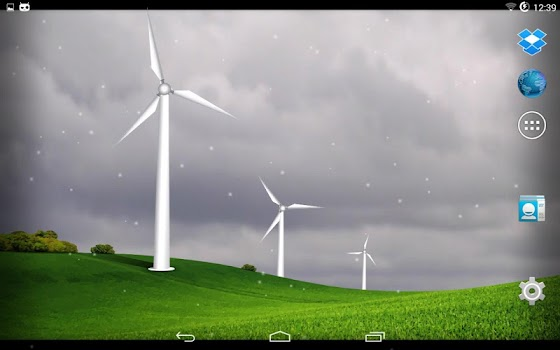 Wind turbines - meteo station