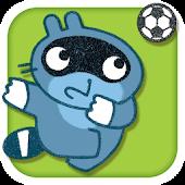 Pango plays soccer