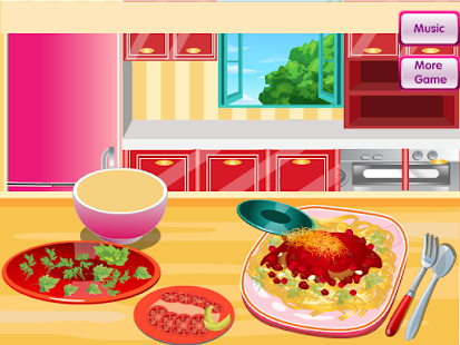 Cooking Spaghetti Bolognese - screenshot thumbnail