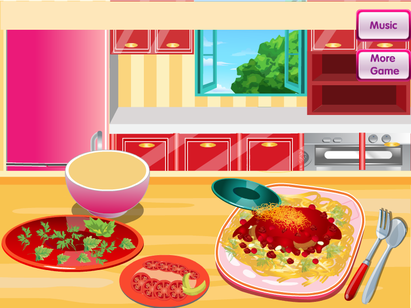 Cooking Spaghetti Bolognese- screenshot