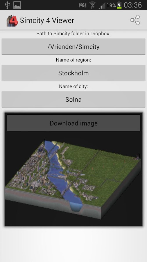 SimCity 4 Reader - screenshot