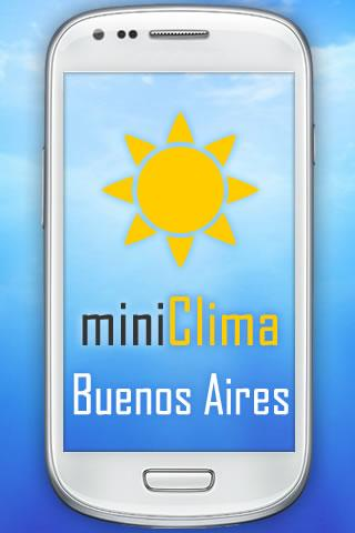 miniClima Buenos Aires