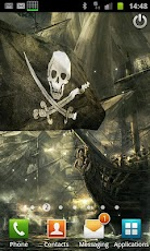 3D Flag Pirate Ship