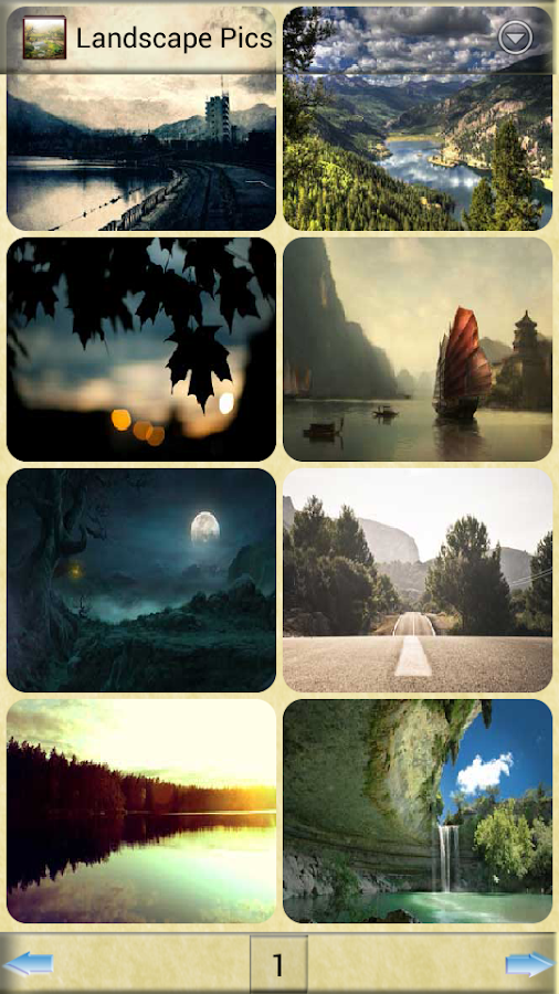 Landscape Pics - screenshot