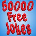 50,000 Free Jokes logo