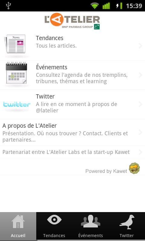 L'Atelier - screenshot