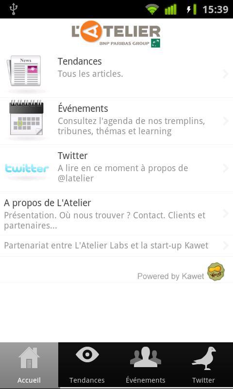 L'Atelier - screenshot