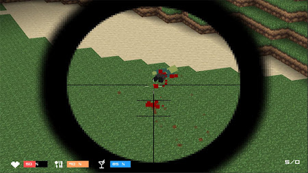 Cube Gun 3D : Zombie Island 1.0 screenshot 44158