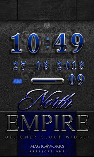 North Empire Digital Clock