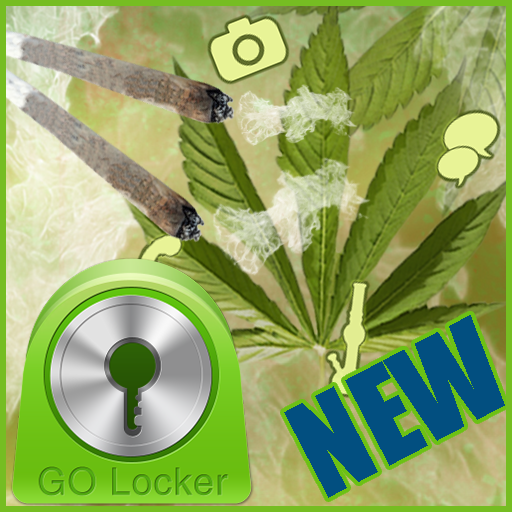 GO Locker Weed Rasta Theme 個人化 LOGO-玩APPs