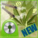 Weed Rasta Theme for GO Locker icon