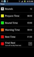 Screenshot of Boxing Timer Pro - Round Timer
