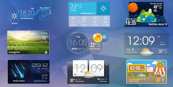 Daily Live Weather Widget εїз screenshot 2