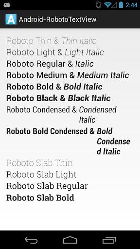 RobotoTextView