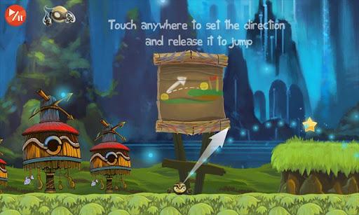حصريا اللعبة الرائعة : Golden Ninja Pro v1.1.3 APK | 32MB