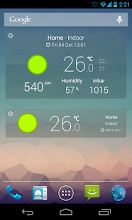 Netatmo Weather – Vignette de la capture d'écran