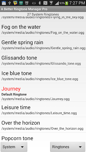A Better Ringtone Manager Pro