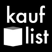 kauflist BLACK Einkaufsliste