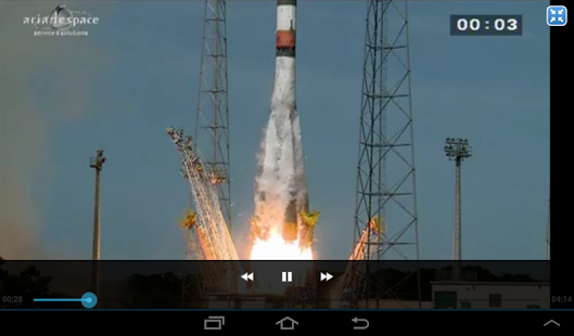 Arianespace HD screenshot