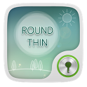 Round Thin GO Locker Theme icon