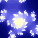 Julia set fractal renderer icon