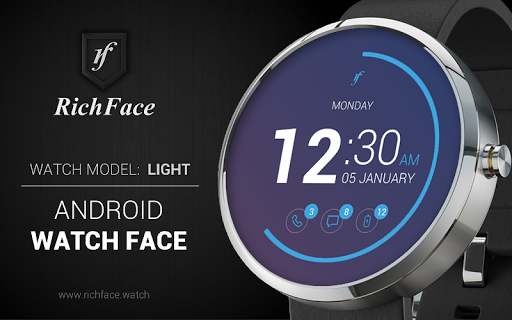 Light Watch Face
