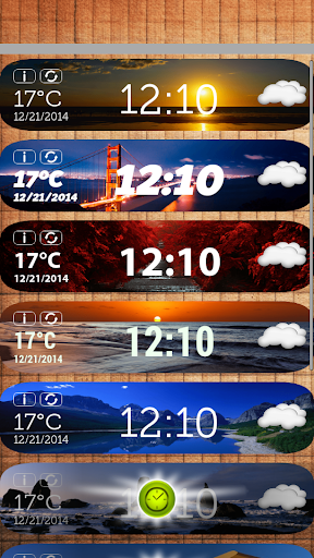 HD天气和时钟小工具