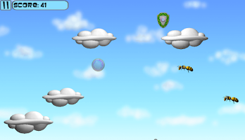 Screenshot of Flight of the Bubble