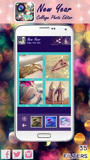 玩攝影App|新年のコラージュ写真編集者免費|APP試玩