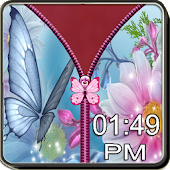 Butterfly Zipper Screen Lock