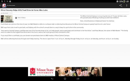KMOT Mobile News - screenshot thumbnail