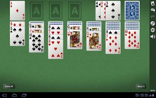 Screenshot of Yukon Gold Solitaire Demo