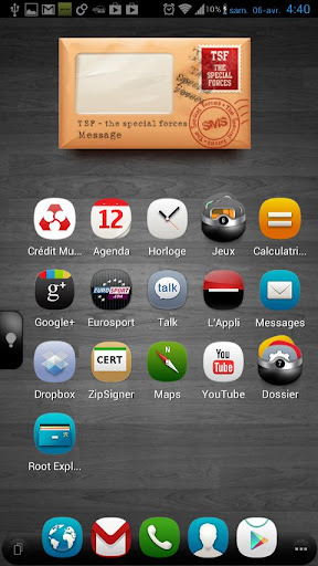 TSF Shell Theme meego HD