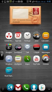 TSF Shell Theme meego HD - screenshot thumbnail