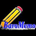 BaroMemo free(Easy Quick Memo) icon