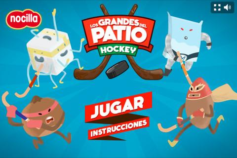 Hockey Los grandes del patio