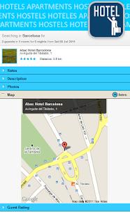 Cheap hotels & hostels deals - screenshot thumbnail