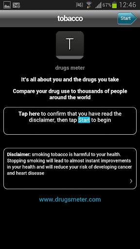 tobacco drugs meter