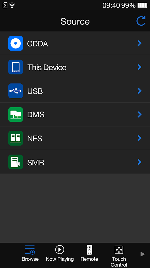 OPPO MediaControl for BDP-10x- screenshot