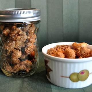 Sweet and Salty Spiced Nuts.