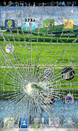 smashed screen prank