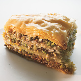 Walnut and Pistachio Baklava