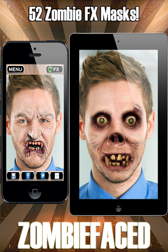 ZombieFaced Pro Zombie Booth