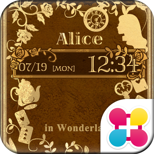 Old Book Of Alice Wallpaper Icon