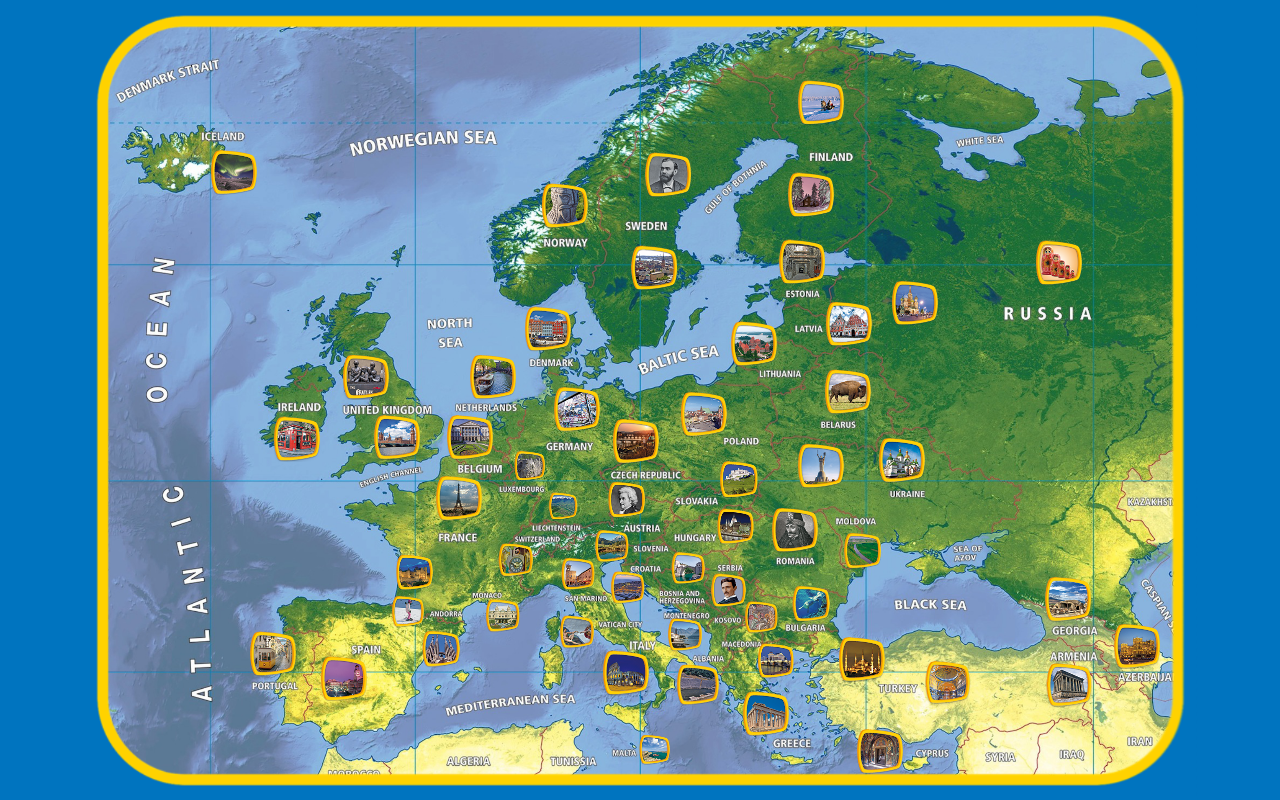Appuzzle Europe- screenshot