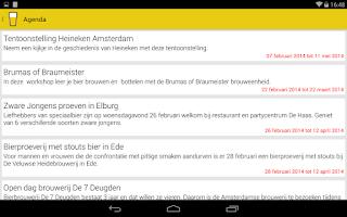 Screenshot of Biernet - Bieraanbiedingen