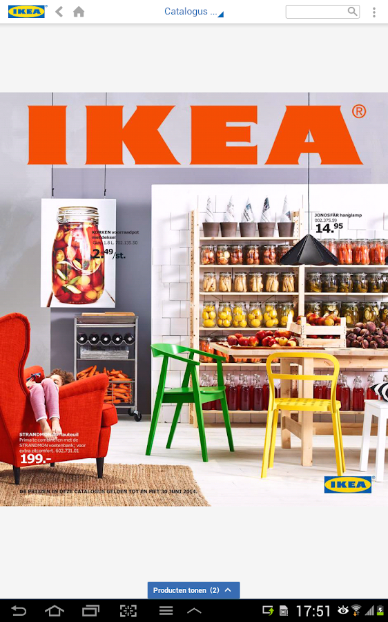 IKEA Catalogus - screenshot