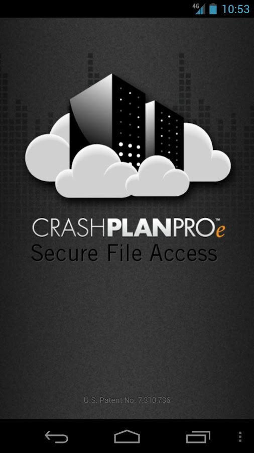 CrashPlan PROe- screenshot