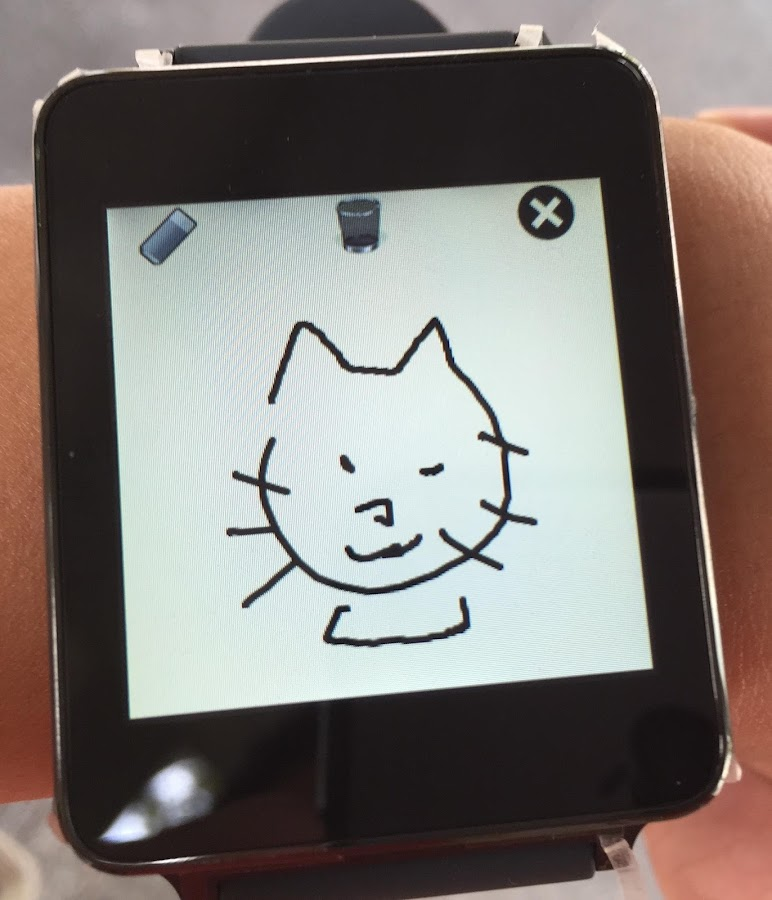 Doodle Note (Android Wear)- screenshot